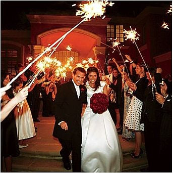Wedding Sparklers 35 Inch Wedding Sparkler Store
