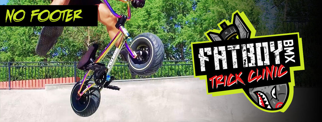 Fatboy BMX Trick Clinic - No Footer