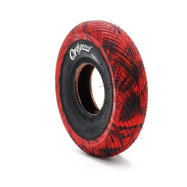 Mini BMX Tire - Marble Red