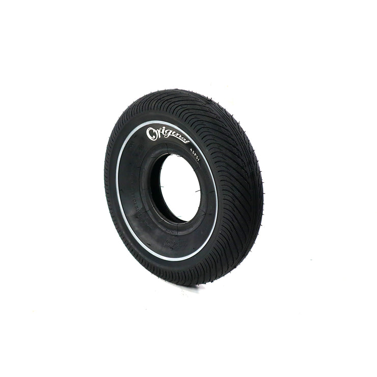 Mini BMX Tire - Black - Grey Stripe