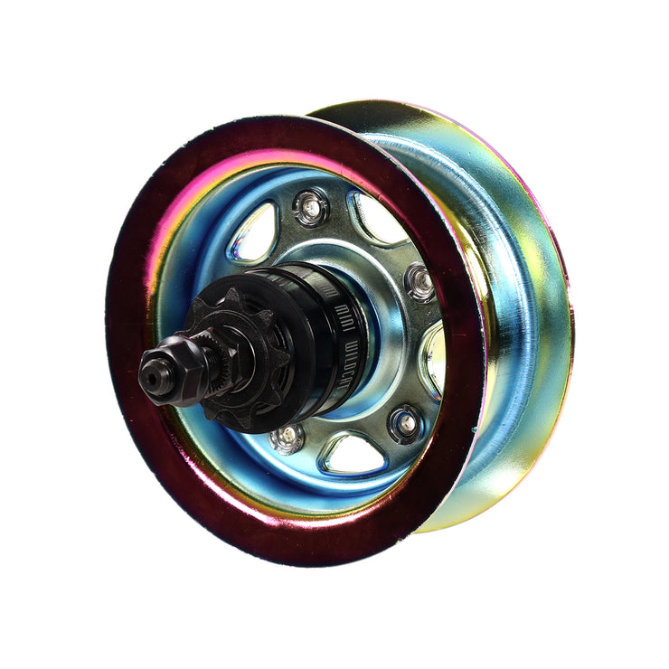 Rear Wheel - Oil Slick