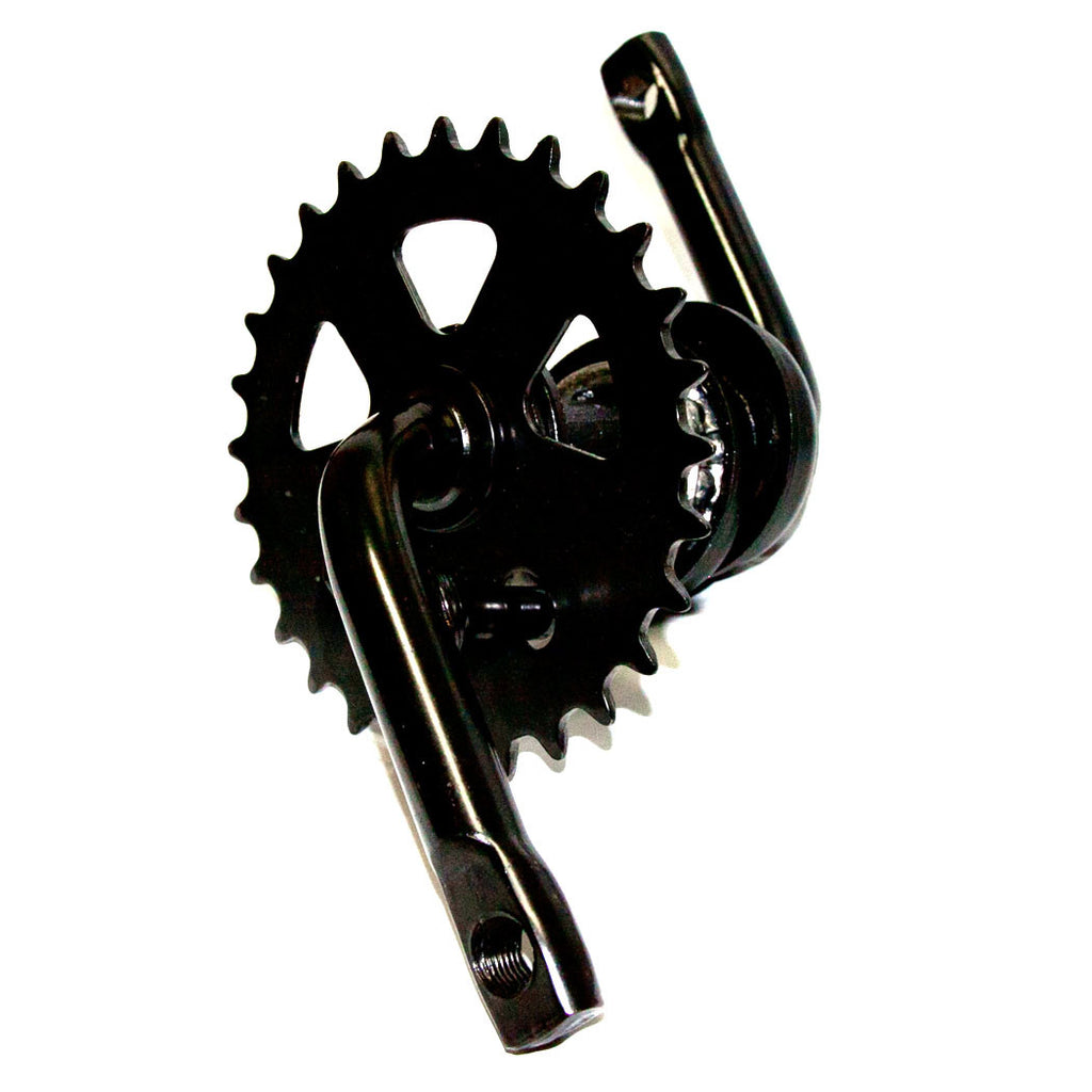 Black One Piece Crankset