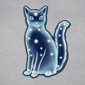 Constellation Cat - Vinyl Sticker