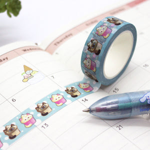 Washi Tape - Cupcake Cats