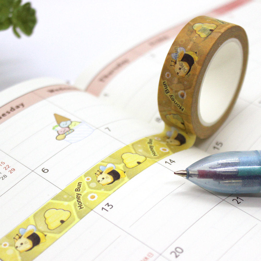 Washi Tape - Bunny Bee