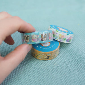 Load image into Gallery viewer, Washi Tape - Yummy Macaron Kitties