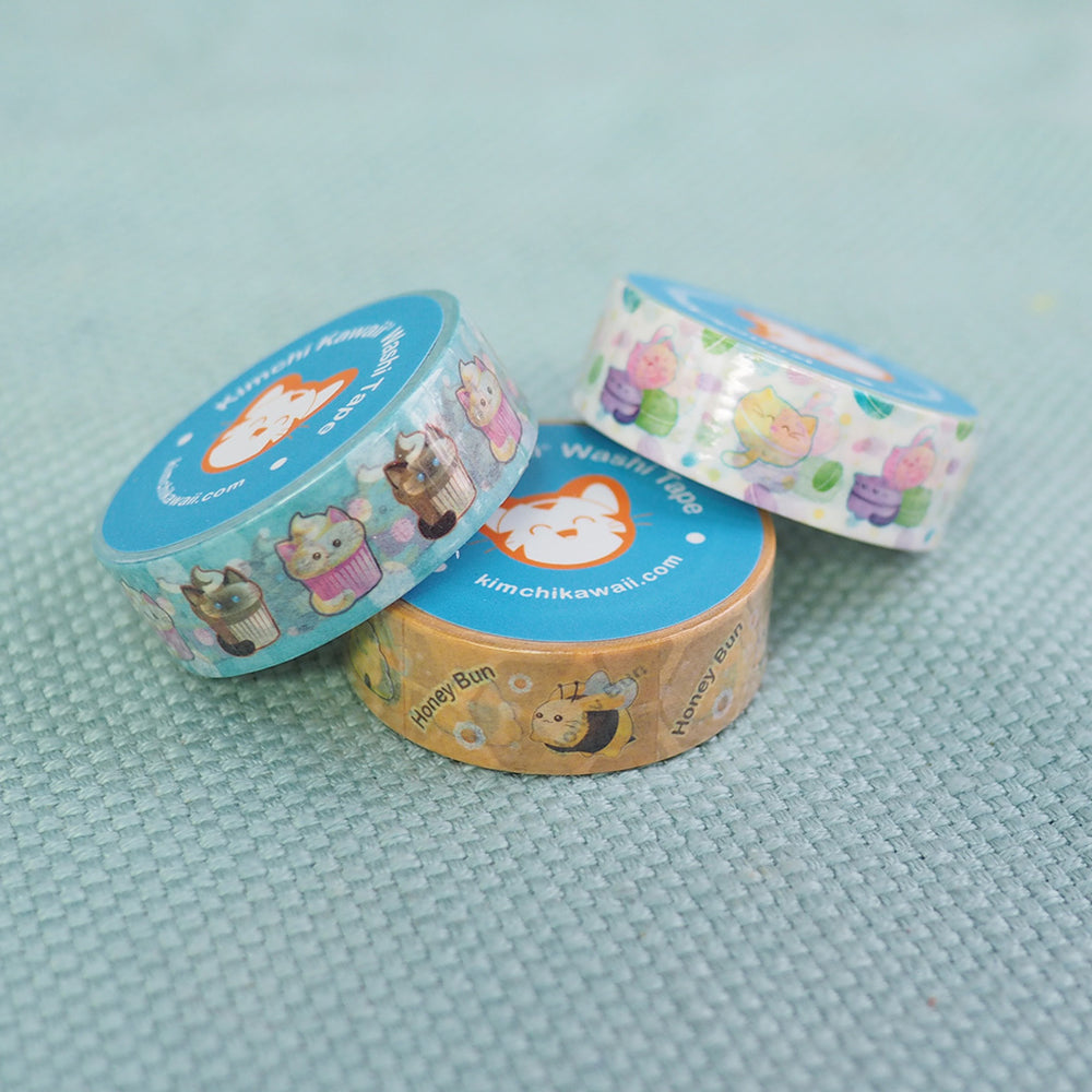 Load image into Gallery viewer, Washi Tape - Bunny Bee