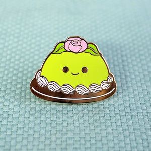 Load image into Gallery viewer, Happy Princess Cake Enamel Pin