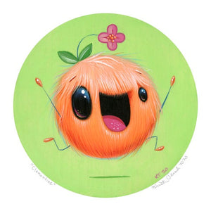 Signed Fine Art Mini Print - Clementine
