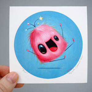 Signed Fine Art Mini Print - Dot