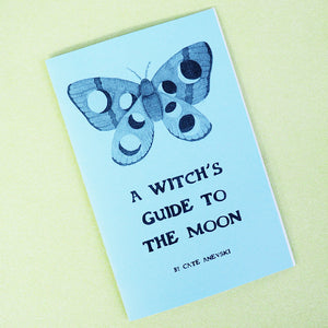 'A Witches Guide To The Moon' Zine