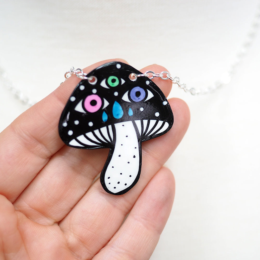 Load image into Gallery viewer, Magic Mushroom Necklace