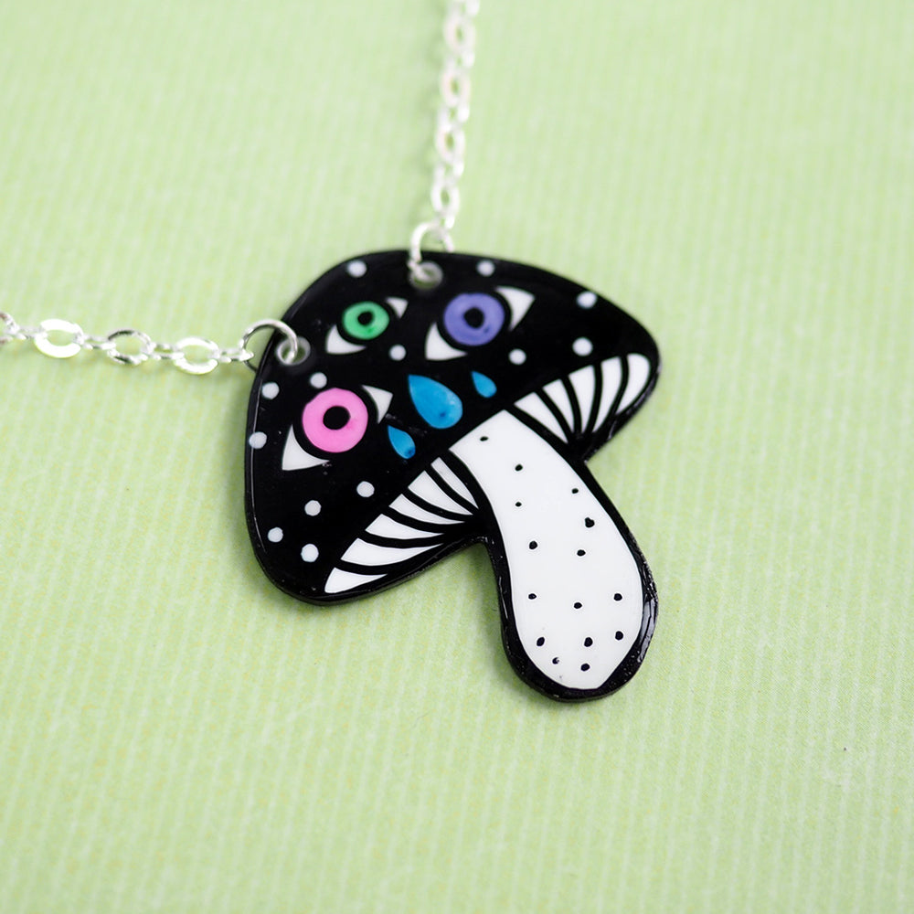 Magic Mushroom Necklace