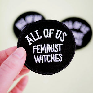 All of Us Feminist Witches Velveteen Iron-on Patch
