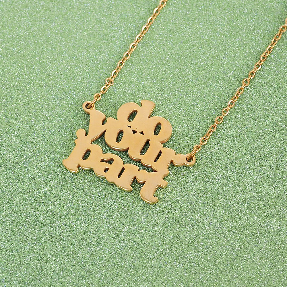 Do Your Part Necklace