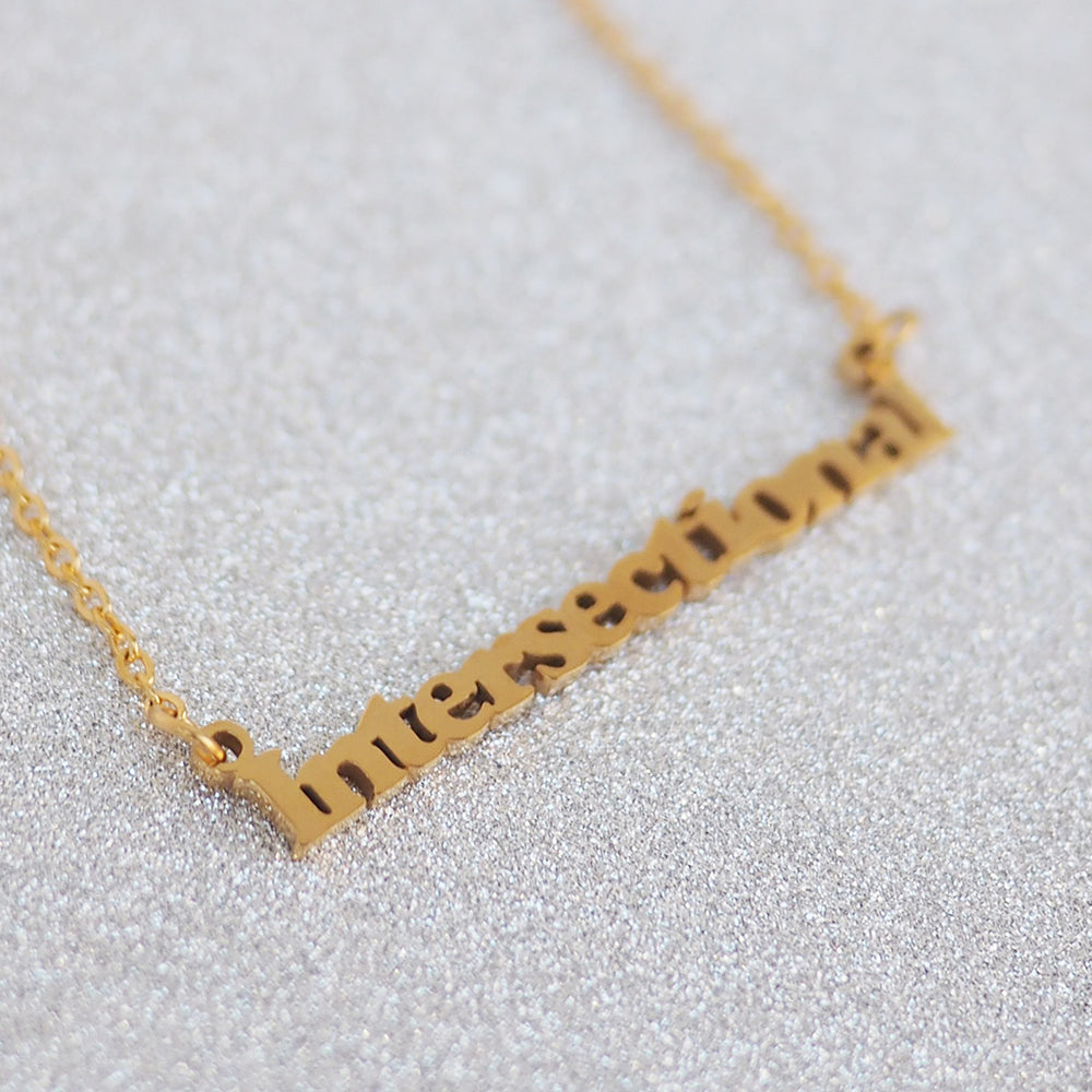 Load image into Gallery viewer, Intersectional Feminism Necklace