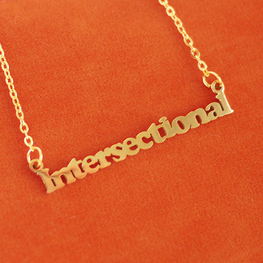 Intersectional Feminism Necklace