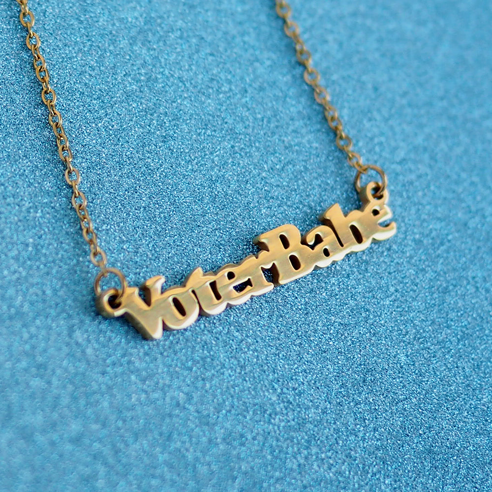 Voter Babe Necklace