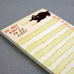 Kitty Cat 'Do Not Want' To Do List Notepad