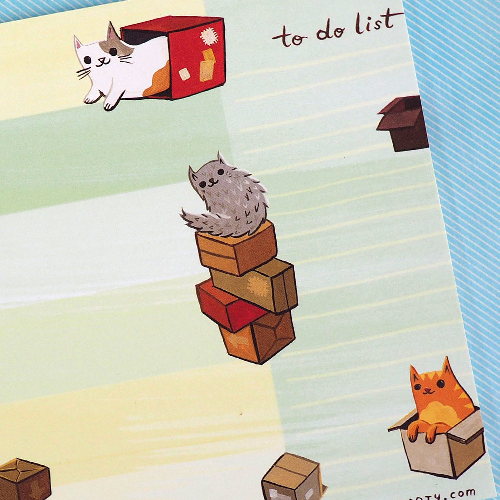 Cats-In-Boxes Weekly Planner