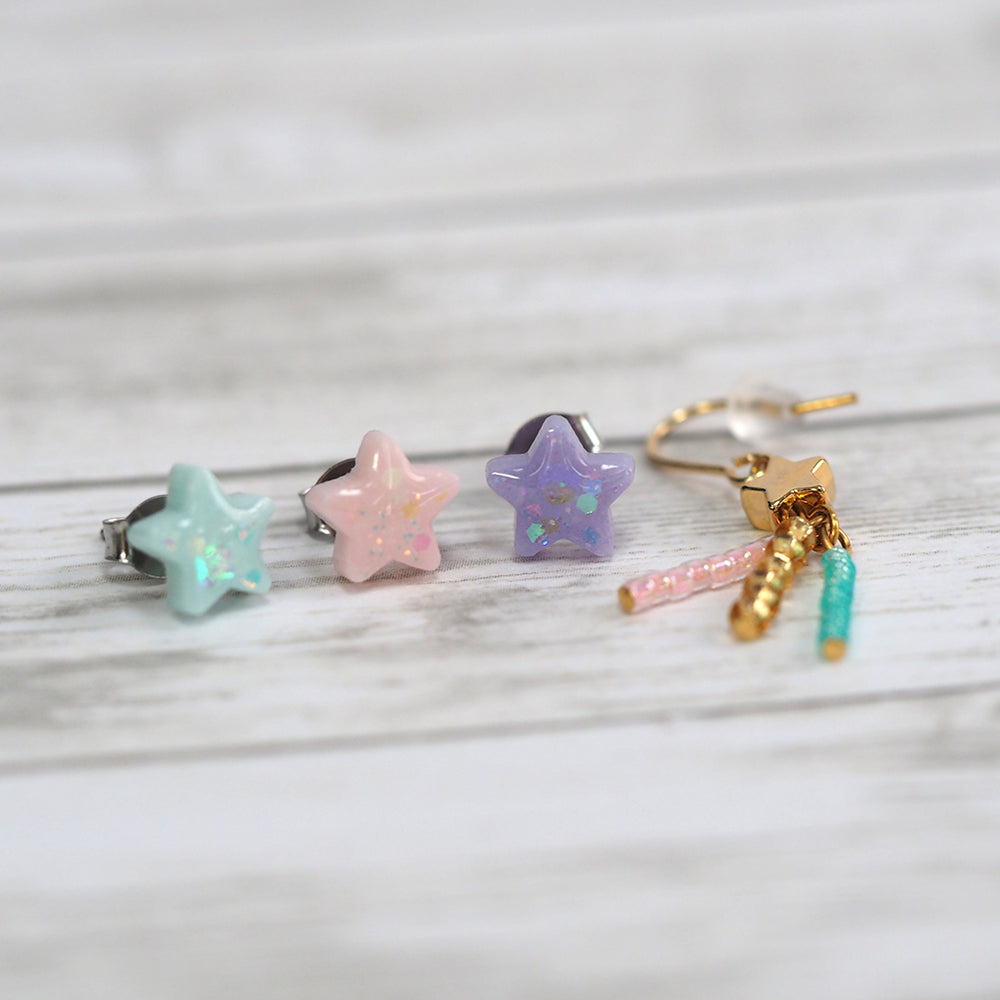 Shooting Star Mix & Match Earring Set