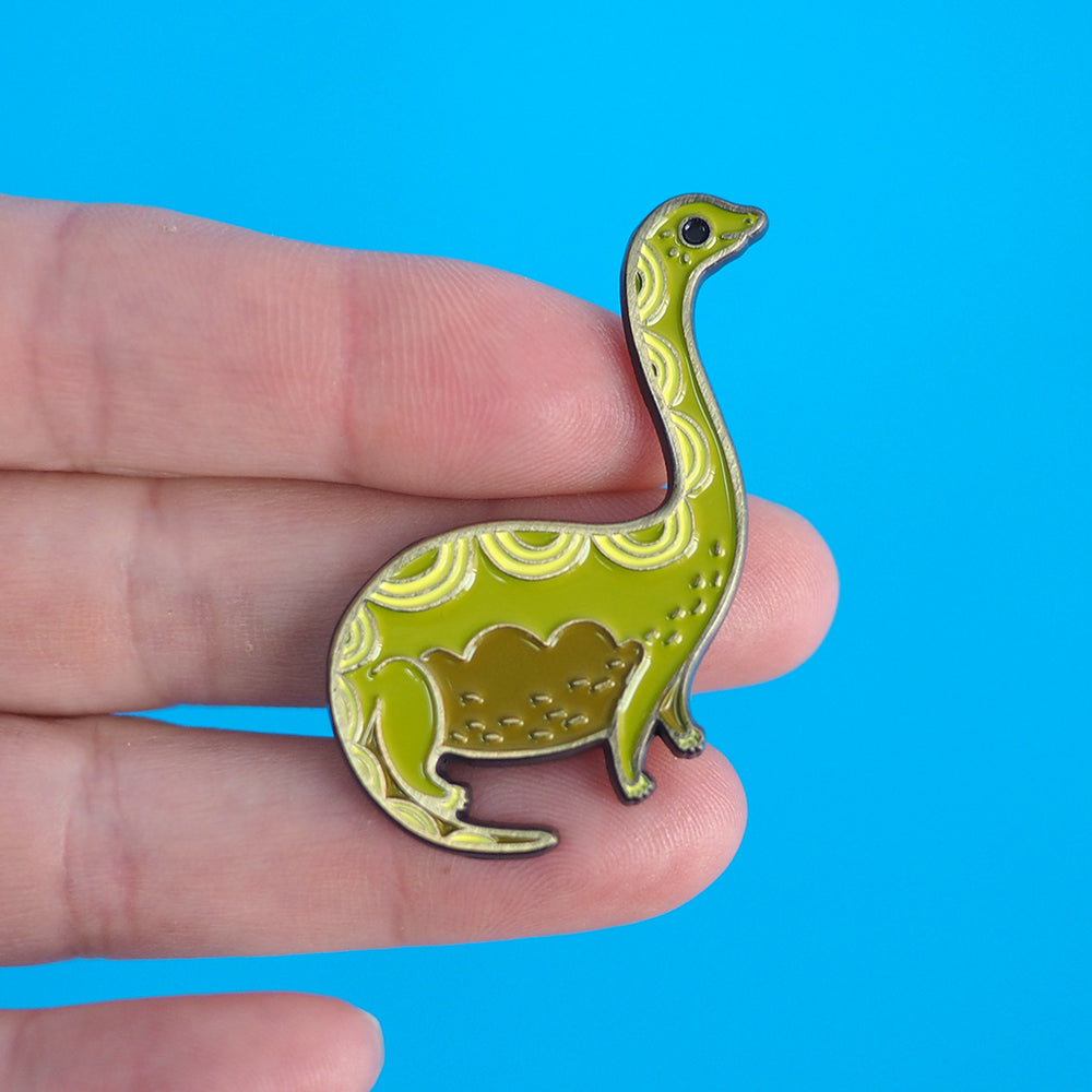 Load image into Gallery viewer, Dinosaur Enamel Pin