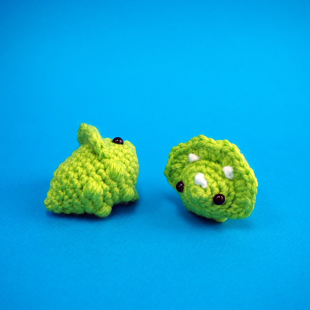 Load image into Gallery viewer, The Smallest Cutest Dinosaur Amigurumi