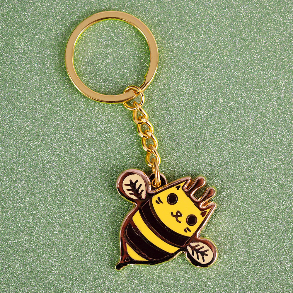 Kitty Bee Keychain