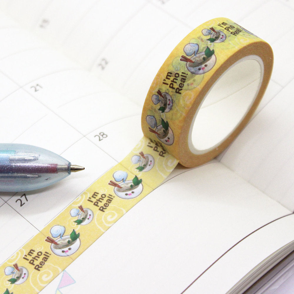 Washi Tape - I'm 'Pho Real'