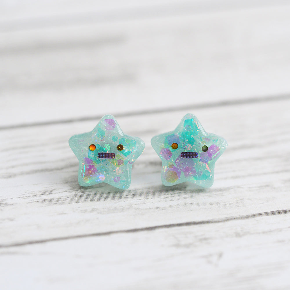 Worried Stars Earrings