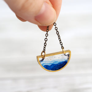Load image into Gallery viewer, Ocean Sky Necklace