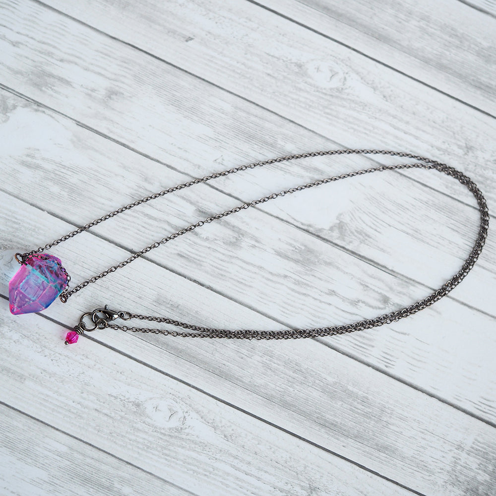 Load image into Gallery viewer, Unicorn Crystal Necklace