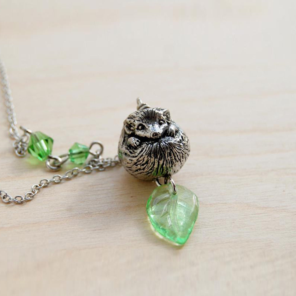 Happy Hedgehog Necklace