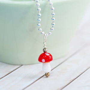 Little Mushroom Necklace