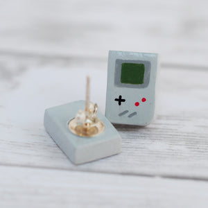 Retro Gameboy Stud Earrings