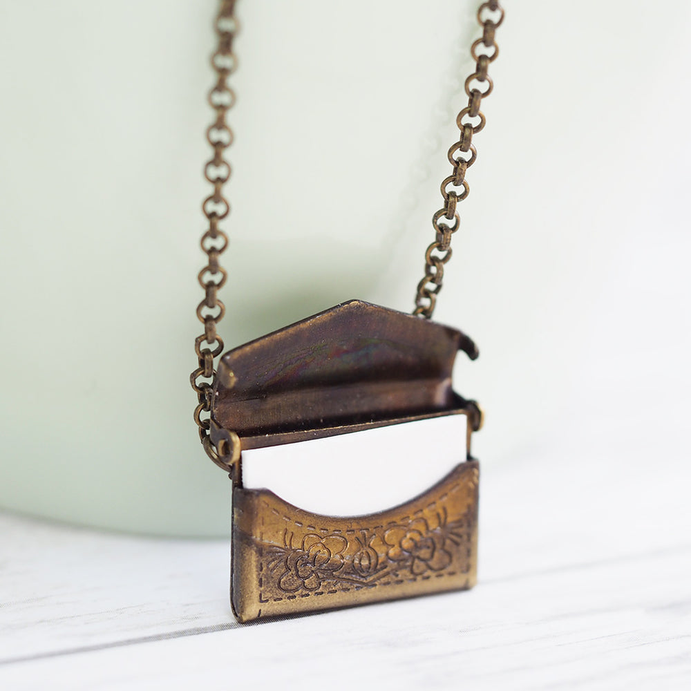 Vintage Love Letter Necklace