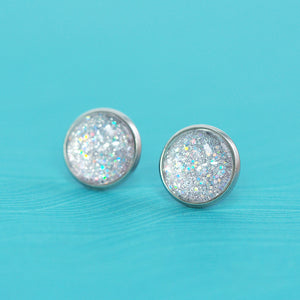 Stud Earrings - Ice Galaxy