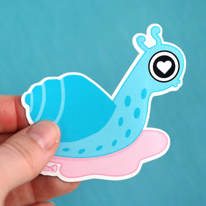 Load image into Gallery viewer, Snail Love Sticker