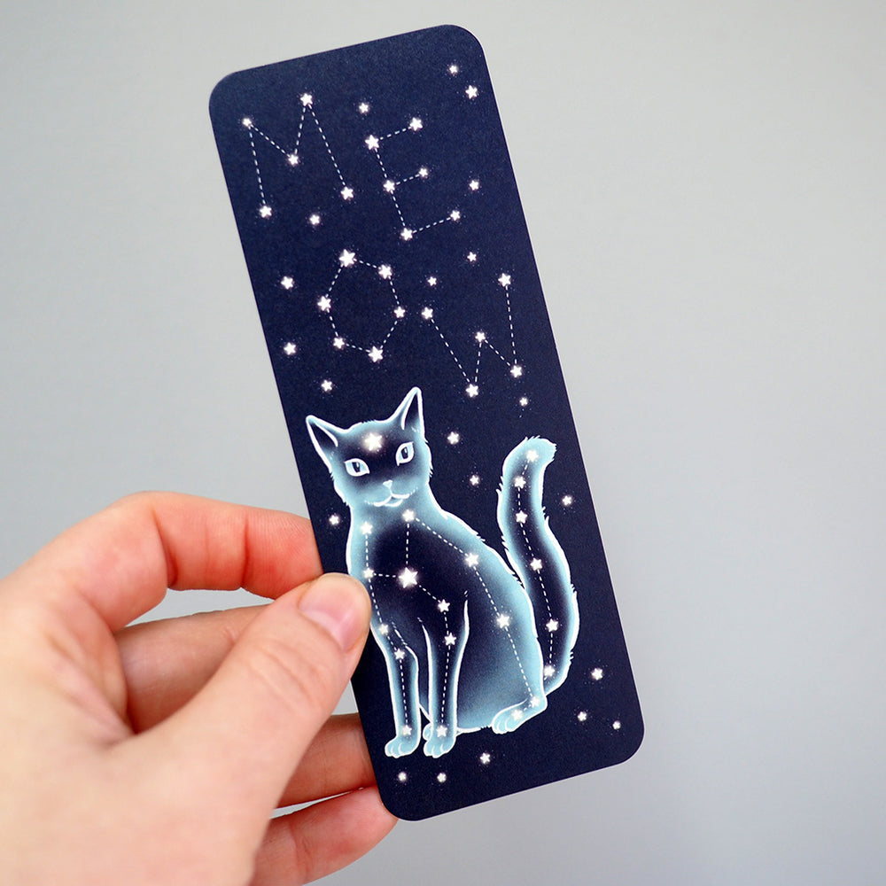 Bookmark - Constellation Cat