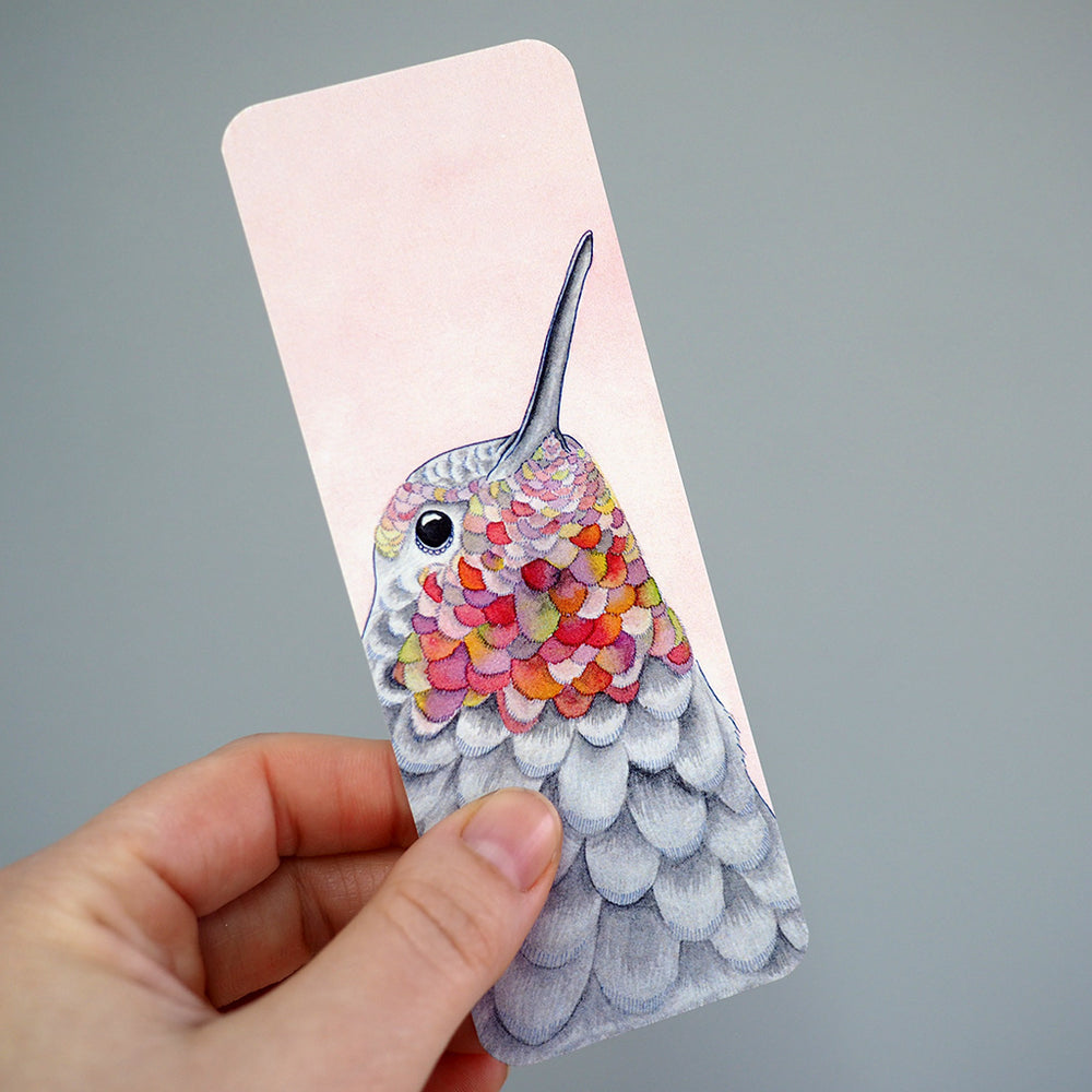 Bookmark - Hummingbird
