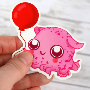 Kawaii Octopus Sticker