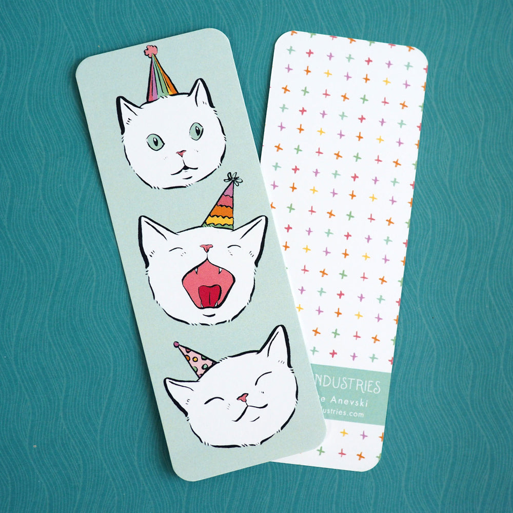 Bookmark - Party Cat