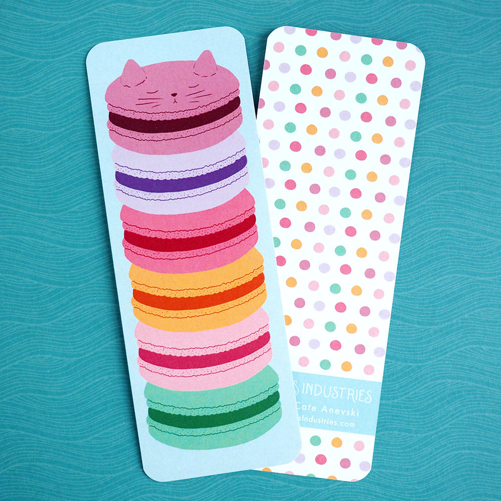 Bookmark - Macaron Kitty Cat