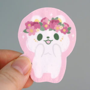 Load image into Gallery viewer, Dandylion Cat Encouragement - 4-Pack Vinyl Sticker Set