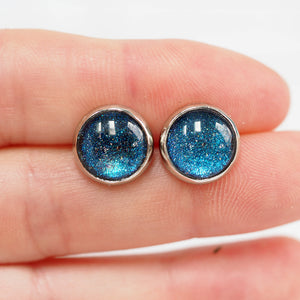 Stud Earrings - Fairy Glitter