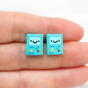 Load image into Gallery viewer, BMO Stud Earrings