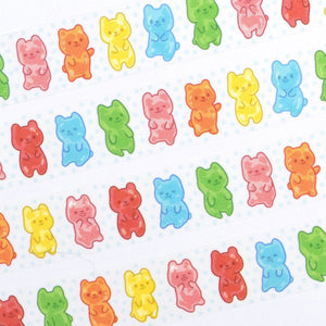 Washi Tape - Rainbow Gummy Bears