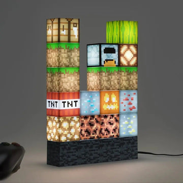 🟫【only $23.99 each】Pixel square mosaic table lamp, Creative table lamp that can be freely spliced
