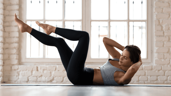 Morgens trainieren - Bicycle Crunches
