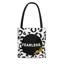 Load image into Gallery viewer, Fearless Leopard Print Shopping and Tote Bag
